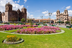 Der grosse Plaza de Armas