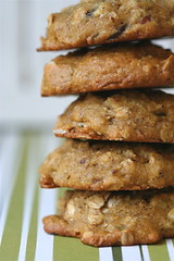 Pumpkin, Seed, and Nut Cookies  stack