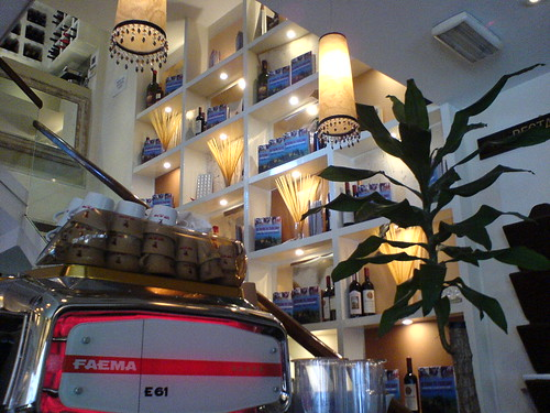 Caffe Caldesi interior