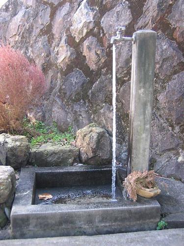 Frozen Drip From Spigot