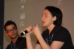 Heather Champ at Campus Party Brazil