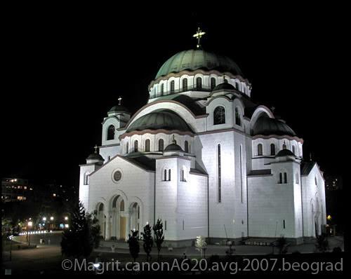Hram Sv. Save, Beograd