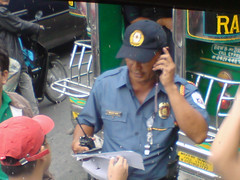 SM Bacoor checkpoint officer