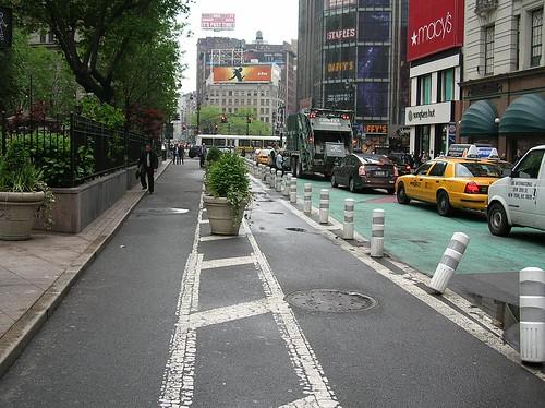 Lane closure Herald Square Broadway