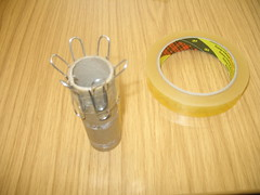 Creating a knitting spool 003