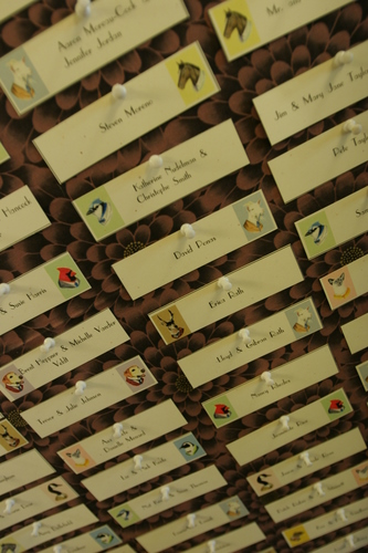 Find your escort card