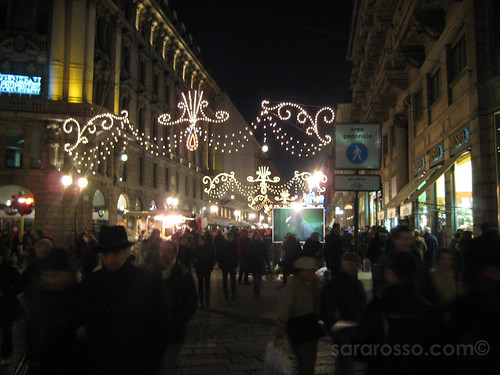 Via Dante - Milan, Christmas 2007