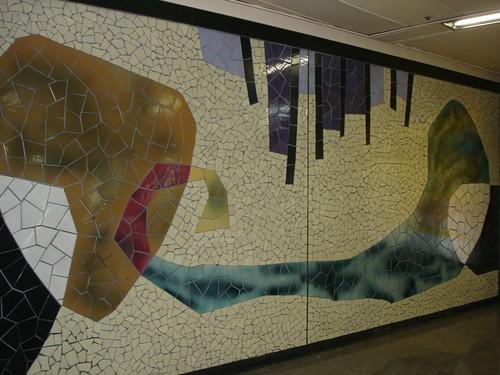 Seoul Subway Mosaics