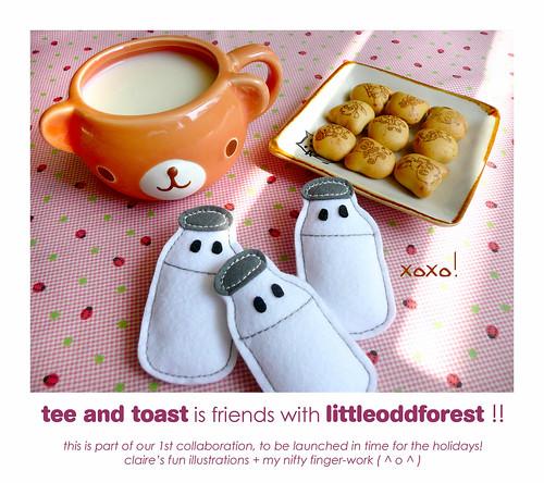 lof's collaboration with tee+toast!