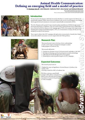 Animal Health Communication Poster Presentation
