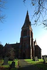 Winthorpe Church in Nottinghamshire.