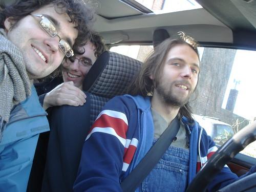 Moi, Guillaume et Steven