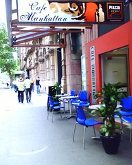Café manhattan, york st sydney