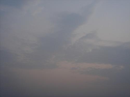 Ganges River1-31日出的恆河天空
