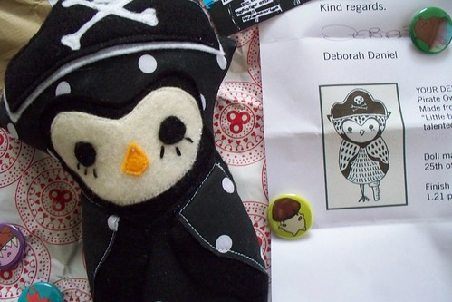my little pirate owl, courtesy of munano!