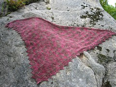 Diamond Fantasy shawl