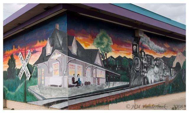 Whole Train Mural