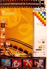 Afiche de III FENACO Cusco 2006