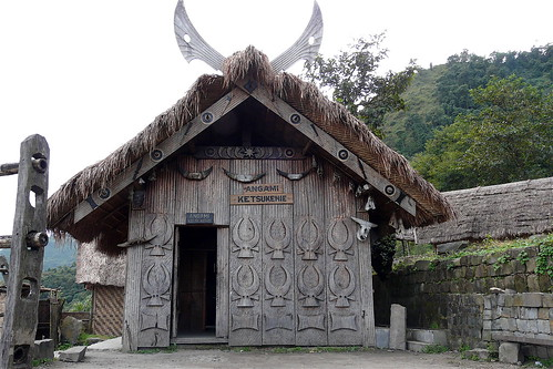 Naga heritage village, Kohima
