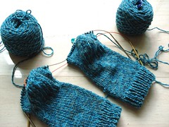basic sock with heel and gusset