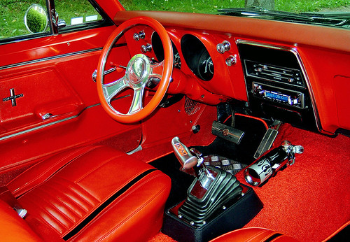 1967 Camaro SS Deluxe Interior