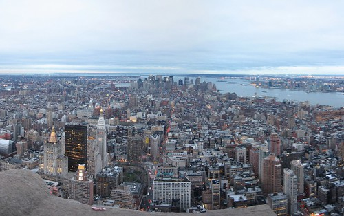 Manhattan panorama from Empire State
