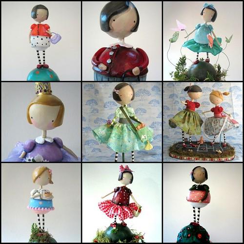 Eleven Morning Dolls