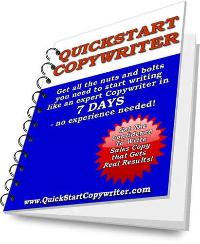 QuickStart Copywriting ebook: How to become an expert copywriter in 7 days!
