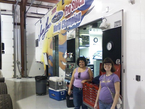 At the Race Shop