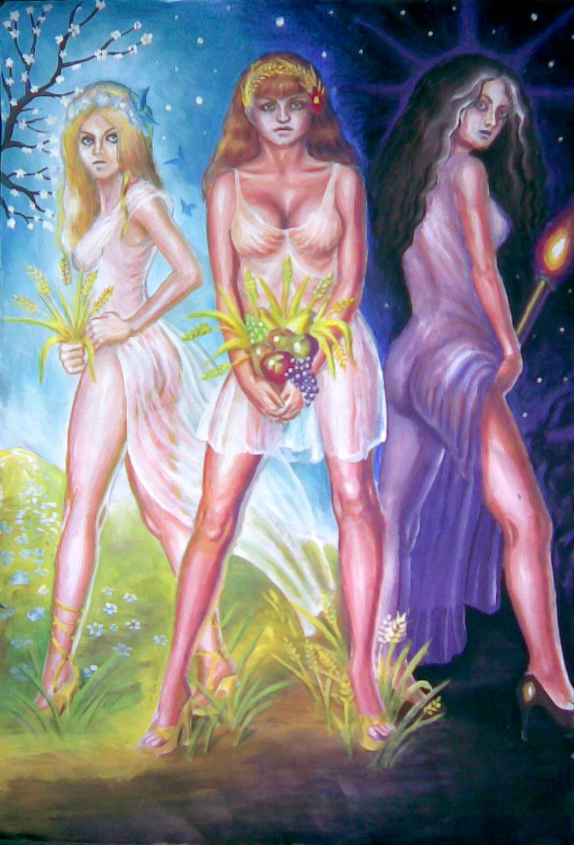Demeter, Kore and Hecate
