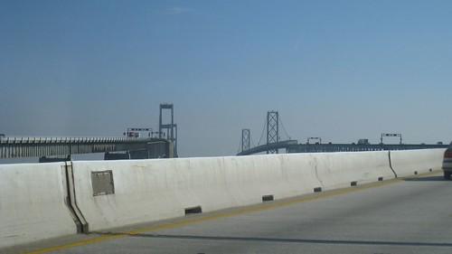 Bay Bridge - 4.7 miles long (I've walked it a few times)