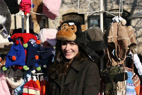 Mostly Lisa in Monkey hat