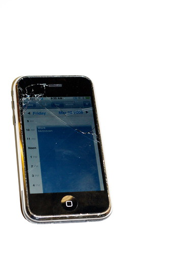 Broken iPhone (by Jeffery Simpson)