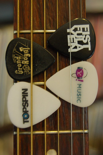 My resume, in guitar picks, revisited