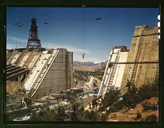 Shasta dam under construction, California (LOC)