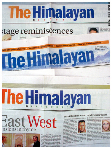The Himalayan Times by Gaurav Dhwaj Khadka