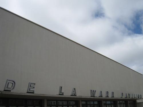 De La Warr Pavilion - Front view