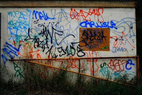 Graffiti at Rapid Bay