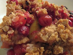 Cranberry-Apple Crumble