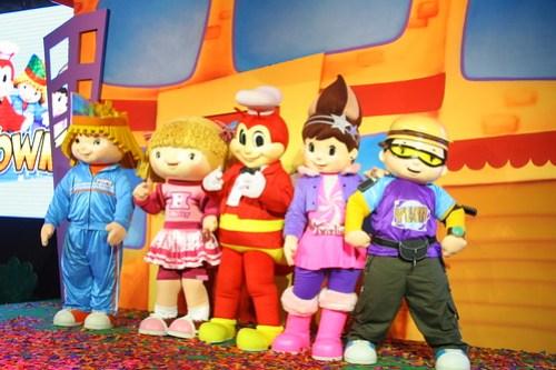 Popo, Hetty, Jollibee, Twirlie and Yum