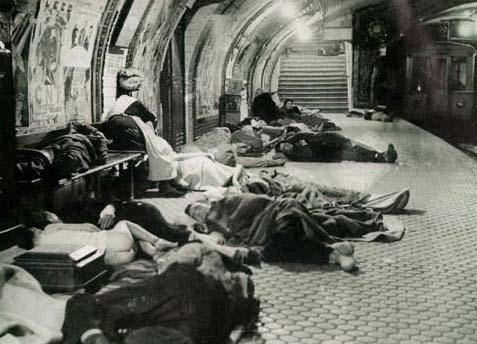 Metro -Bombardeos