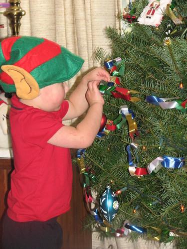 Jacob Elf Hanging Heart Ornament