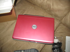 My new Pink Dell Inspiron 1521