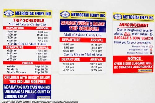Metro Ferry Manila Bay Cruise-3