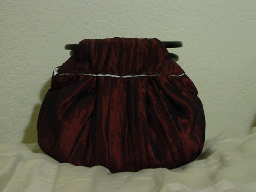 Pleated Purse with Darts
