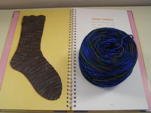 Friday Harbor socks-to-be