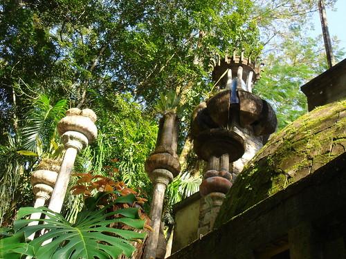 Arquitectura surrealista en Las Pozas, Mexico