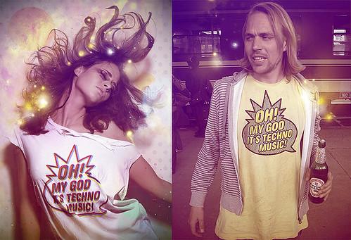 Oh! My god it's Techno Music! T-Shirt