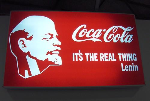 Lenin Coca-Cola