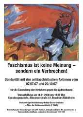 antifaschistische Solidaritätsveranstaltung 11.01.2008